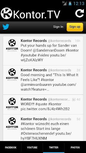 【免費音樂App】Kontor.TV-APP點子