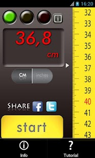 Slide Meter: Measure the world - screenshot thumbnail