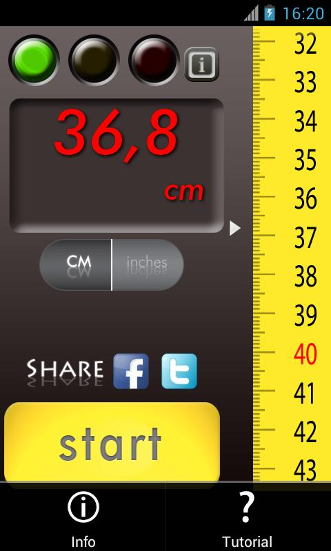 Slide Meter: Measure the world - screenshot