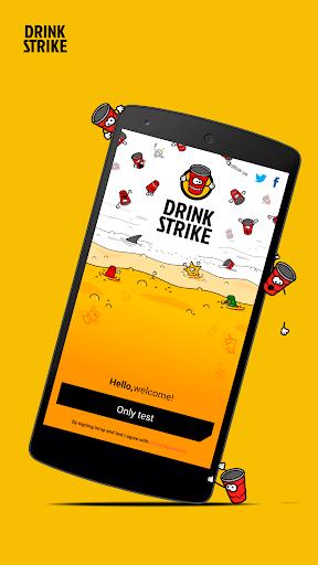 Drink Strike - 酒精检测仪和为了获奖玩喝酒游戏