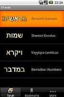 Screenshot of OKtm English Torah