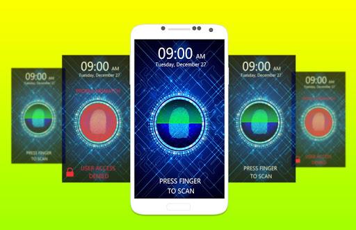 玩休閒App|指紋鎖屏幕掃描儀免費|APP試玩