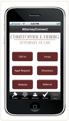 Attorney Christopher Heberg