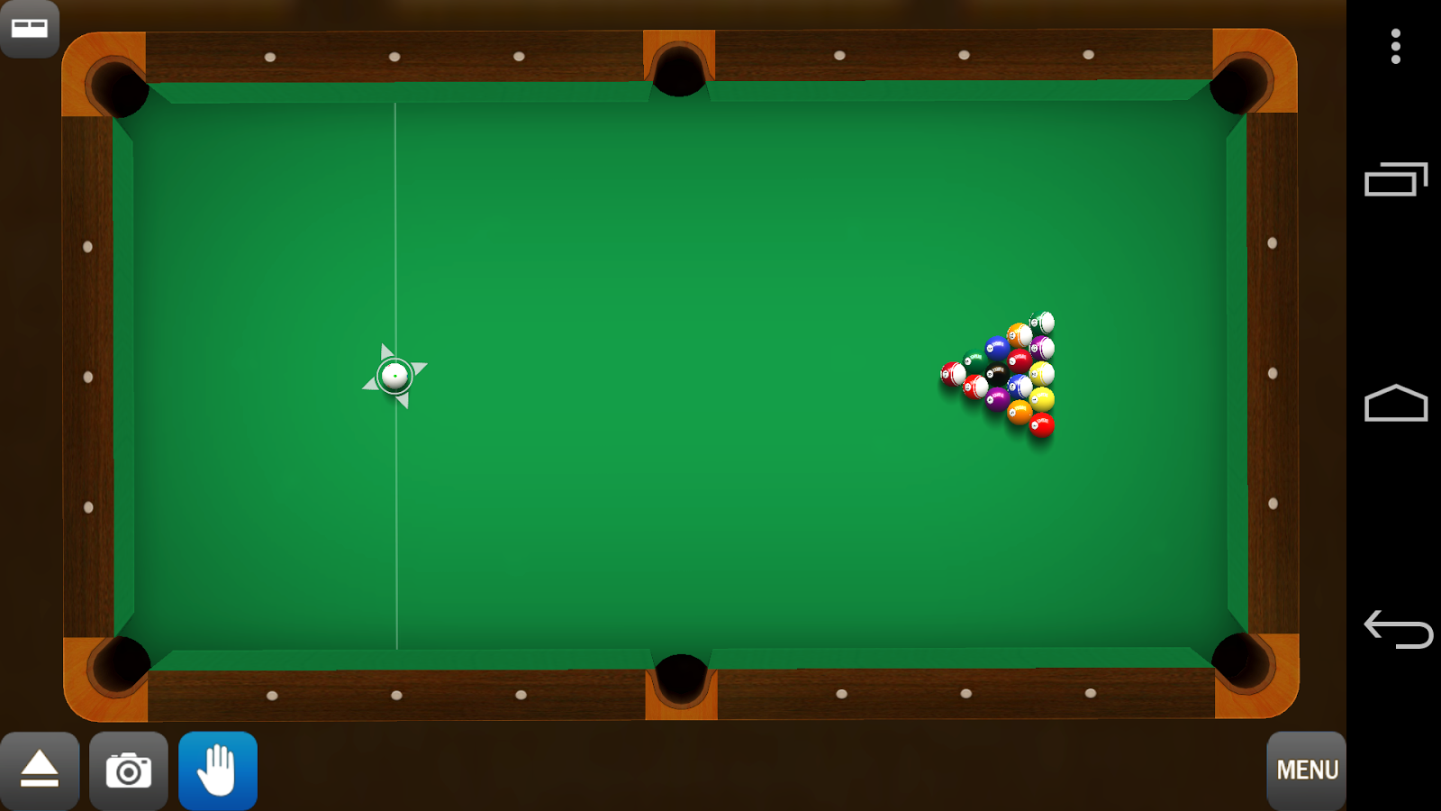 how to play pool on android