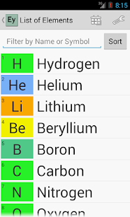 Elementary (Periodic Table) - screenshot thumbnail