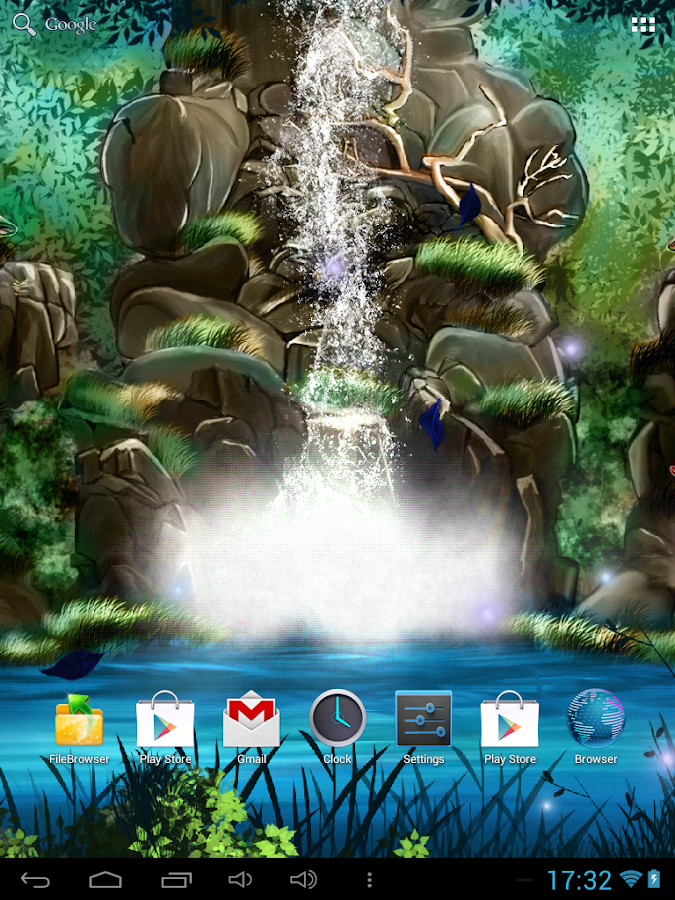 waterfall live wallpaper download for android