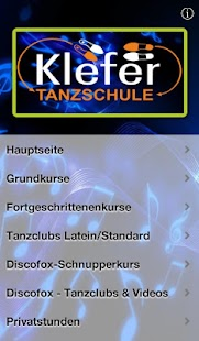 Tanzschule Klefer- screenshot thumbnail
