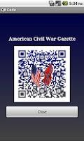 Screenshot of 1861 May Am Civil War Gazette