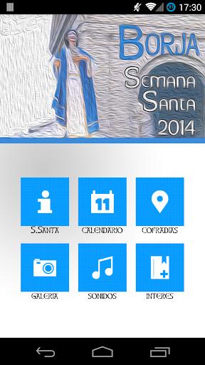 Semana Santa Borja 2014