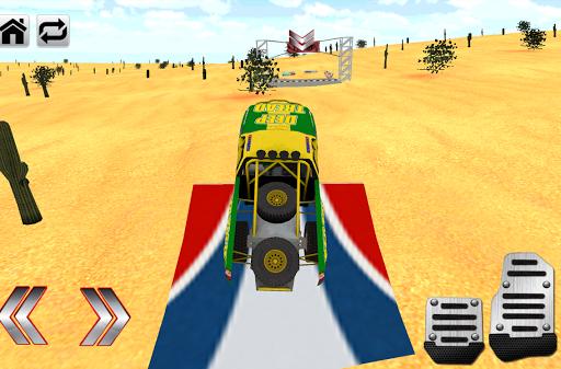 4×4極端的沙漠賽車3D