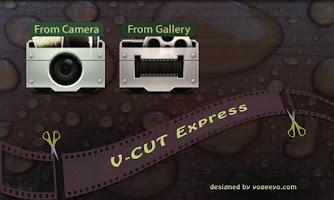 Screenshot of V-Cut Express Trial