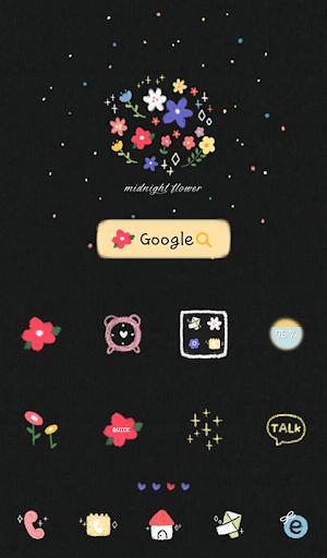 midnight flower 도돌런처 테마