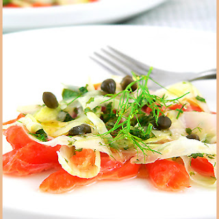 Fennel Salmon Carpaccio Recipe
