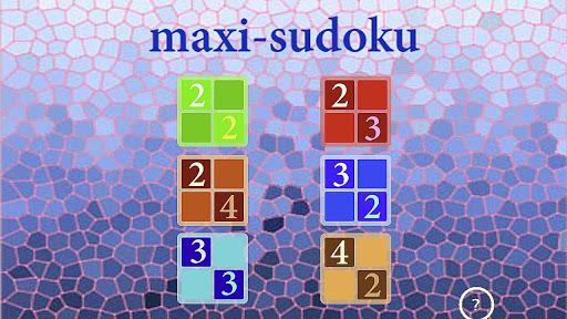 Maxi Sudoku