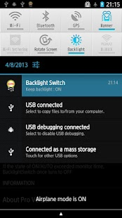 Backlight Switch- screenshot thumbnail