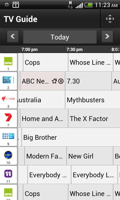 Optus TV with Fetch - screenshot