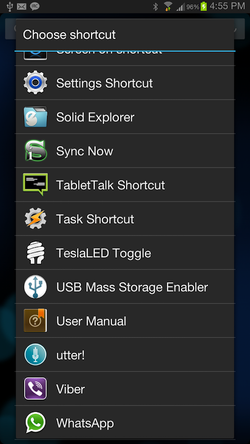SG USB Mass Storage Enabler - screenshot
