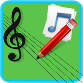 Music Score Pad-Free Notation