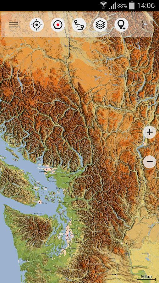 Canada Topo Maps Free – Applications Android sur Google Play