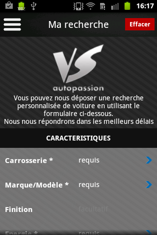 VS Autopassion- screenshot