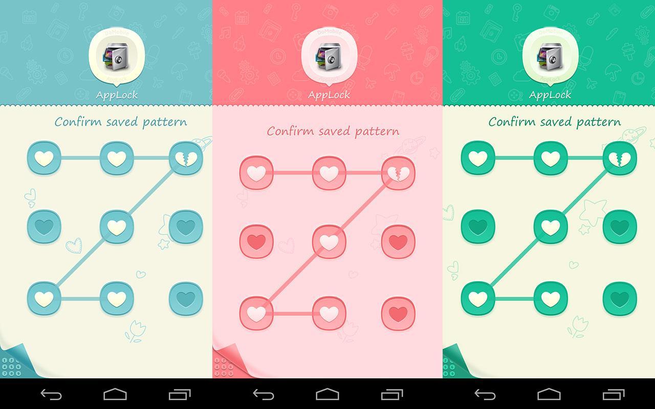 Pink themes for gmail - Applock Theme Pink Screenshot