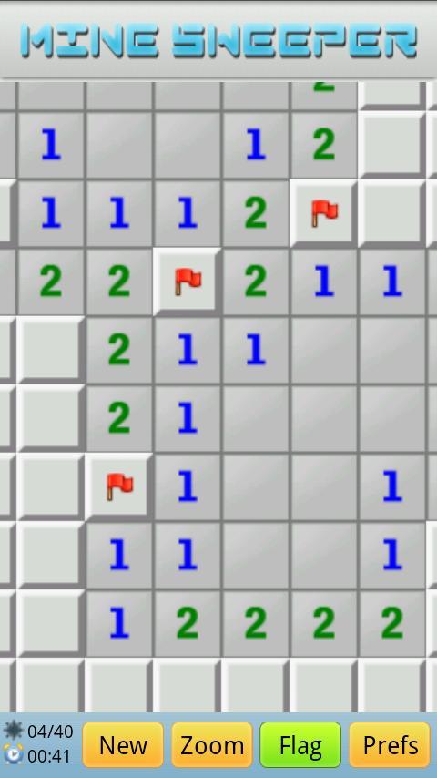 Super MineSweeper Free- screenshot
