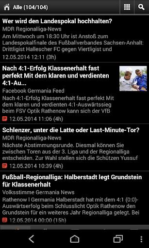 VfB Germania Halberstadt NEWS