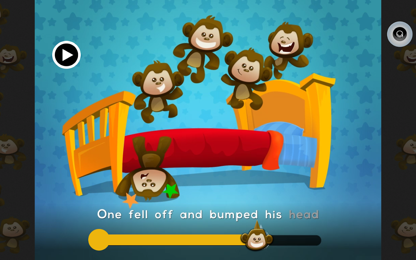 pictures of the five little monkeys jumping on bed