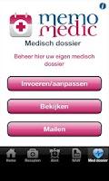 Screenshot of MemoMedic