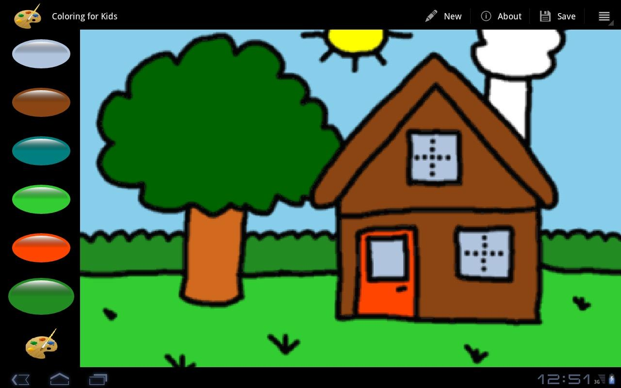 Coloring For Kids- screenshot