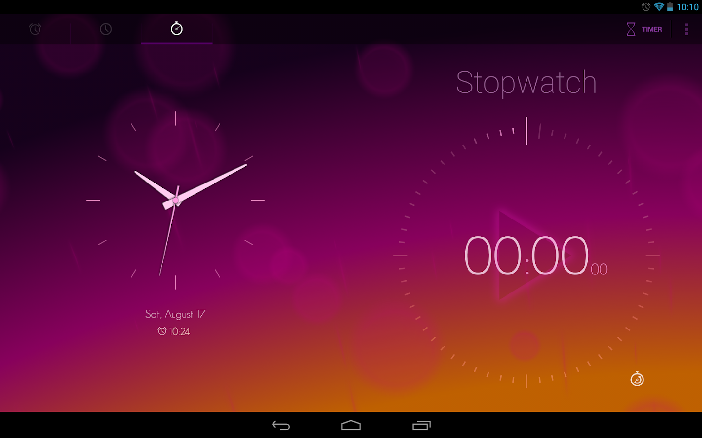 Timely Alarm Clock- screenshot