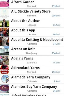 Yarn Store GPS - screenshot thumbnail