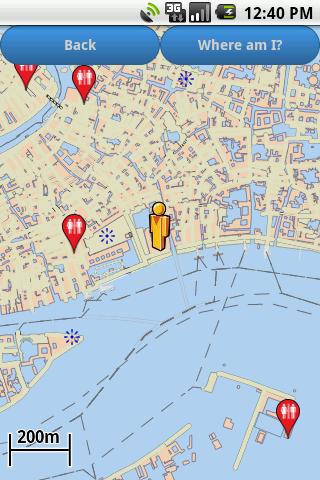 Venice Amenities Map free