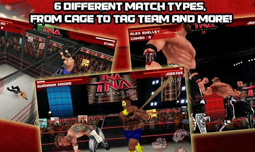 TNA Wrestling iMPACT! Screenshot 3