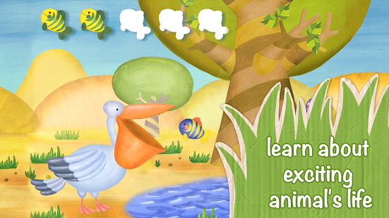Animals for Kids: safari zoo- screenshot thumbnail