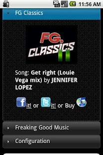 Radio FG USA Application - screenshot thumbnail