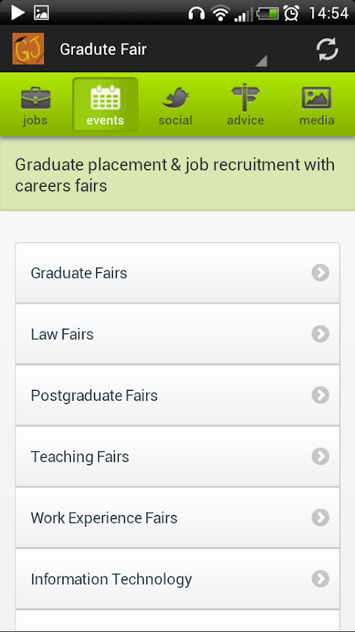 Graduate and Intern Jobs - UK - screenshot