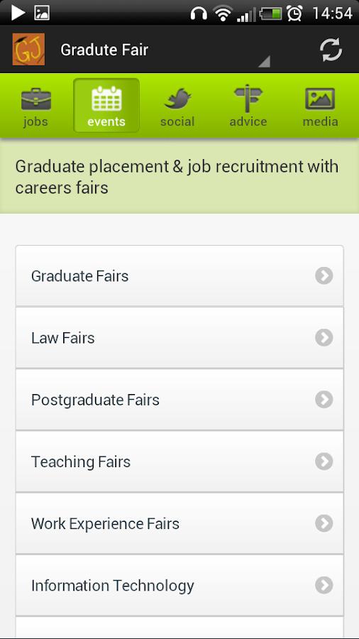 Graduate and Intern Jobs - UK - screenshot