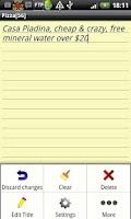 Screenshot of B2 Notepad