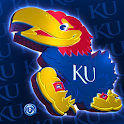 Kansas Jayhawks Live Wallpaper logo