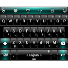 Keyboard Theme Dusk BlackGreen icon