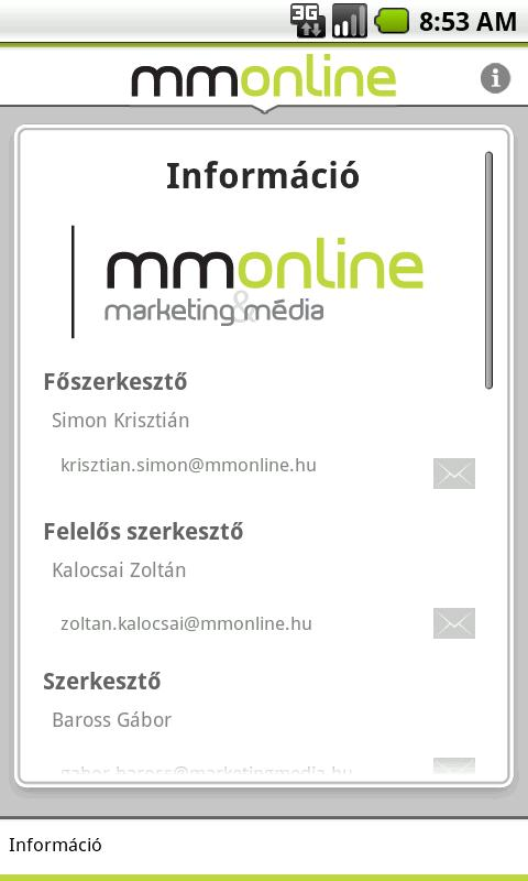 mmonline - screenshot