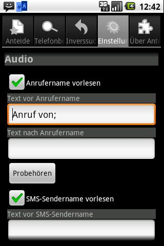 Anteid Free Caller ID- screenshot