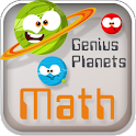 Genius Planets Math logo