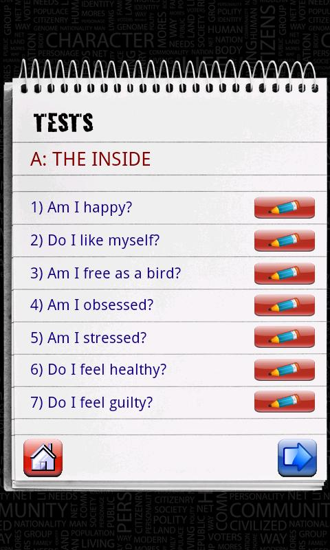 Personality Psychology (Lite) - screenshot