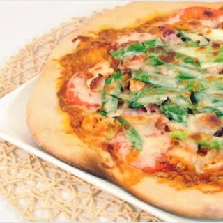 Bacon Kimchi Pizza