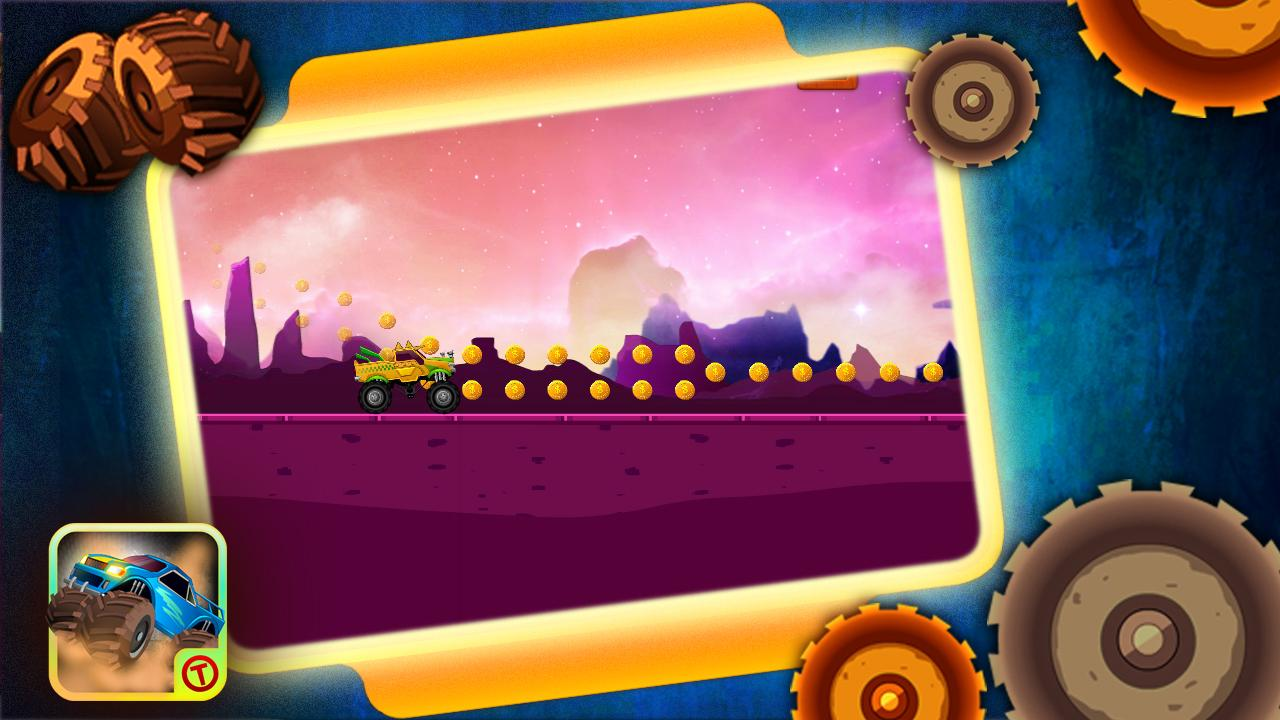 Monster Ride HD - Free Games- screenshot