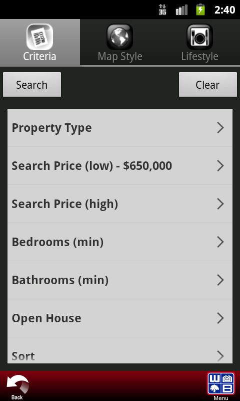 Woods Bros Realty- screenshot