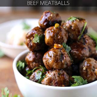 Beef Meatballs (Vietnamese).