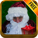 Santa Cam Phone-Christmas App icon
